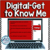 All About Me Distance Learning Activity