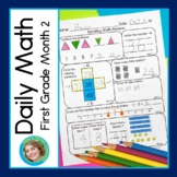 Daily Math for First Grade Month 2