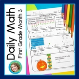 Daily Math for First Grade Month 3