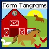 2D Shape Center Farm Tangram Puzzles