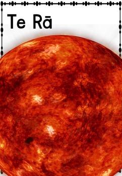 Maori Solar System Posters