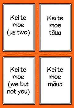 Maori personal pronouns (dual)
