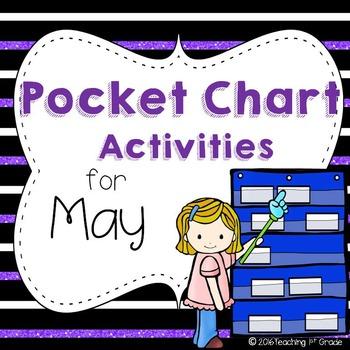 May Pocket Chart Activities
