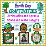 Earth Day Speech Therapy Craftivity For Apraxia & Articulation