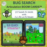 Spring Bug Search Articulation Boom Cards™