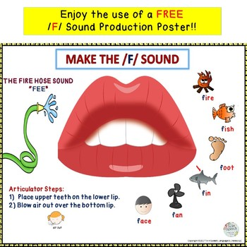 Speech Sounds Slides & Ladders: /F/, /G/, /C-K/, /P/, /T/ + flashcards & posters