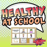Healthy at School - Washing hands, covering mouth & more!