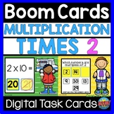 BOOM CARDS Math Facts Multiplication Times 2 Digital Learning