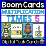 BOOM CARDS Multiplication Facts Times 5 Digital Learning