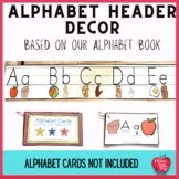 Alphabet Banner based on our Alphabet Book