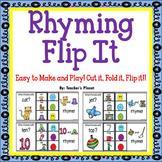 Phonological Awareness Rhyming Flip It!