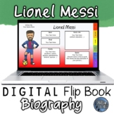Lionel Messi Digital Biography Template