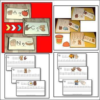 Alphabet Book and Activities Bundle