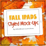 Ipad Mock Up | Fall Leaves Styled Images