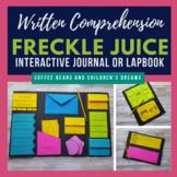 Freckle Juice Novel Study Lapbook
