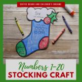 Representing Numbers 1-20 Stocking Craft