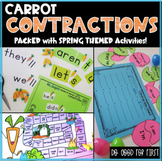 Carrot Contractions > Spring / Easter Themed Activities > Contraction Hunt