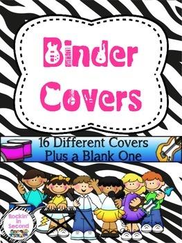 Rockstar Theme Binder Covers
