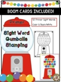 Sight Words that Stick!  Stamping Gumballs {Primer}