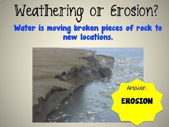 Weathering and Erosion Powerpoint