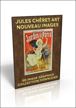 50 out of copyright French Advertising Posters by Jules Cheret