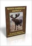 50 out of copyright images of North American Animals to use for anything!