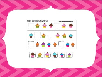 50 page preschool printable package.  3 games and full set