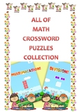 50 pages of Math CrossWord - Puzzles (all colection)