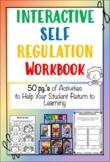 50 pg. Interactive Self Regulation Workbook! 31 Activities- PBIS SEL SLP OT