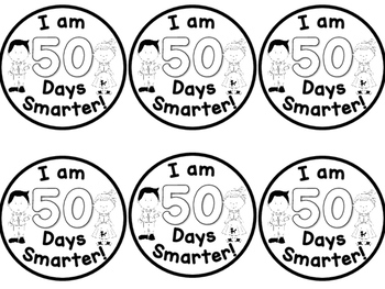 50's Day Badges