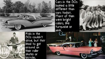 50's Day Informational Slides