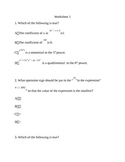 8th grade test prep worksheets 3, with answer keys