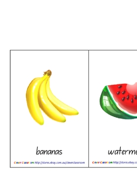 50 x Food Picture Posters - 25 pages