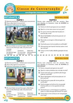 50 x Portuguese Conversation Activities