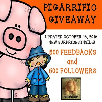 Oink4PIGTALES UPDATED GIVEAWAY with NEW FREEBIES INSIDE