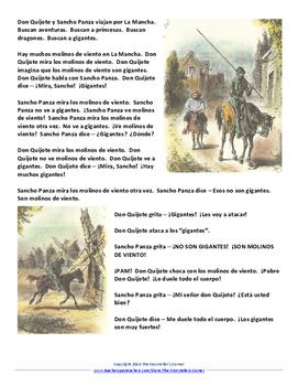 Don Quijote Reading
