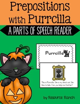 Prepositions Reader - Parts of Speech