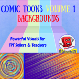 500 Plus BACKGROUNDS BY COMIC TOONS VOLUME 1: TPT Sellers