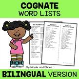 Spanish Cognates Lists