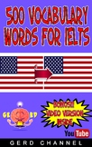 500 Vocabulary words for IELTS