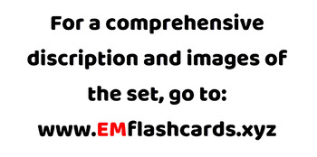 500 X 2 German Flashcards Set 1 (1000 flash cards with words and no words)