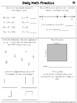 3rd Grade Daily Morning Work / Daily Math Practice Bundle