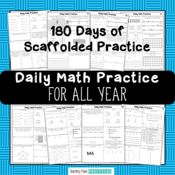 3rd Grade Morning Work: Daily Math Practice