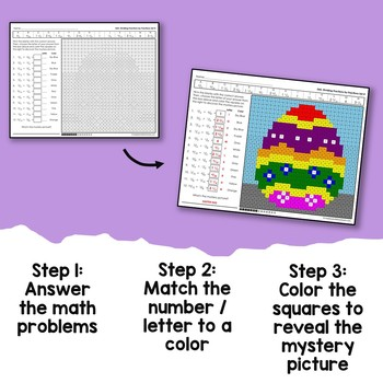 Easter Multiplying and Dividing Fractions by Fractions