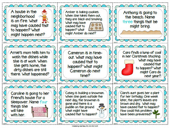 501 Social Skills Prompts - Problem-Solving Pragmatics Predicting etc. ASD