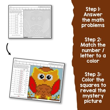 Fall Multiplying Fractions by Fractions