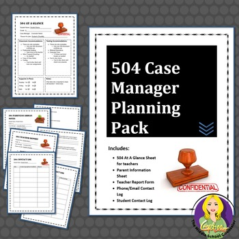 504 Case Manager Planning Pack