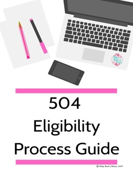 504 Eligibility Process Guide l Case Manager Planning Pack