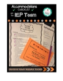 504/IEP Accommodations Checklist