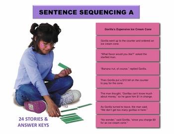 Sentence Sequencing A Manipulatives